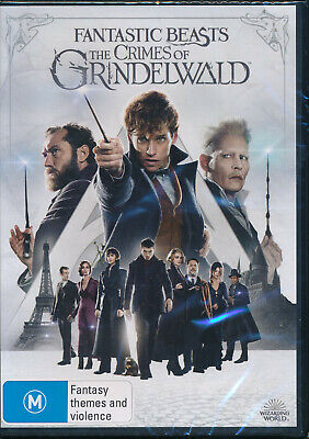 Fantastic Beasts Crimes Of Grindelwald DVD NEW Region 4  Eddie Redmayne