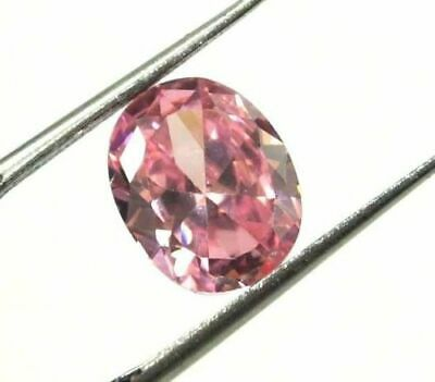 GGL Certified Natural 4.30 Ct Pink Sapphire Oval Shape Loose Gemstone