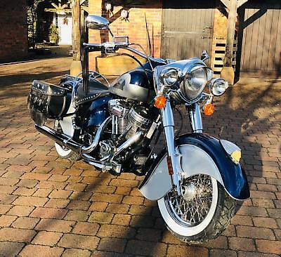 Indian CHIEF 2002- SUPER RARE- 655 EVER BUILT -ONLY 3000 MILES-GREAT PLATE