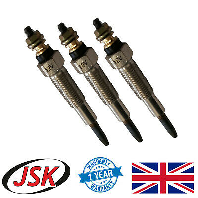 3x Heater Glow Plug for Perkins 403C-15 403D-15 403D-15T 403D-17