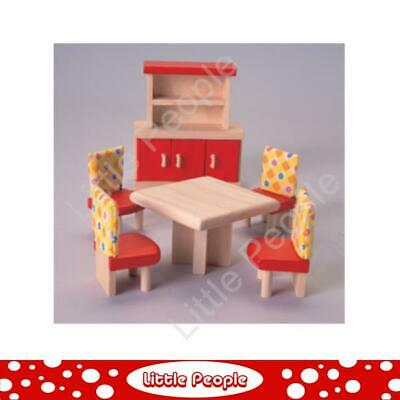 Plan Toys -Wooden Dining Room Set Neo