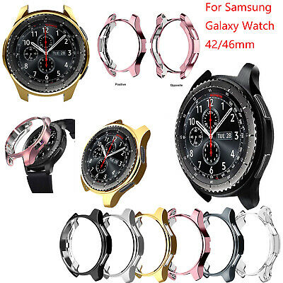 TPU Watch Case Protector Cover Electroplated for Samsung Galaxy Watch 42/46mm