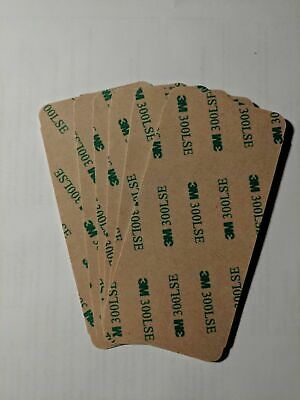 """6X 3M 300LSE Super-Strong Double Sided Adhesive Sheet Size 2""""x4.25"""""""