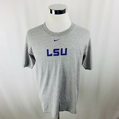 """buy popular 383b6 482ae Nike Team LSU Louisiana State University """"Welcome to Death Valley"""" Shirt  Mens M"""