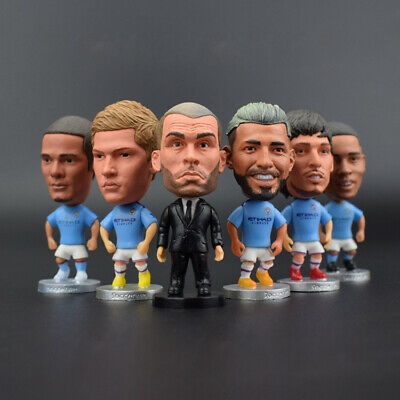 """Soccer CITY Star Player 2.5"""" Action Doll Toy Figure New Season"""