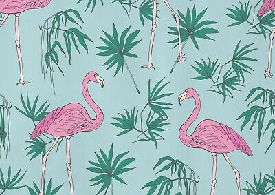 A1 | Pink Tropical Flamingo Poster Art Print 60 x 90cm 180gsm Girly Gift #13047