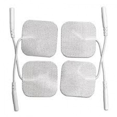 Tpn 200 - 4 Square Tens Electrode Pads Reusable For Tens Machines