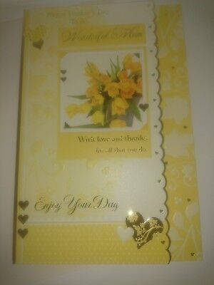 Job lot Wonderful Mum mothers day cards 100 cards