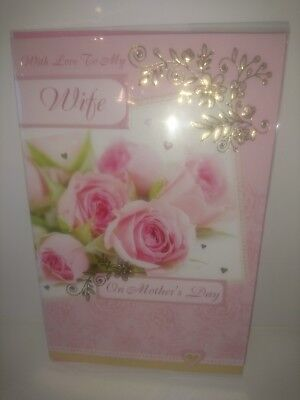 Job lot Wife on mothers day cards 100 cards