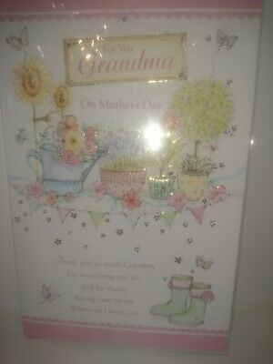 Job lot of Grandma on mothers day cards 100 cards
