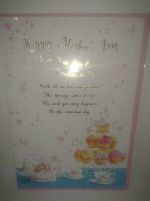 Job lot mothers day cards from Son & Daughter in law 100 cards