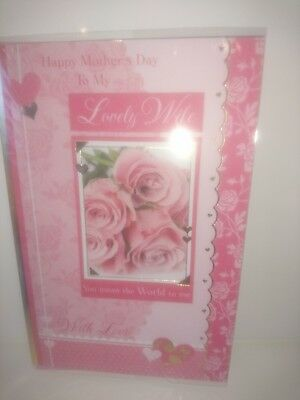 Job lot of Lovely Wife on mothers day cards 100 cards
