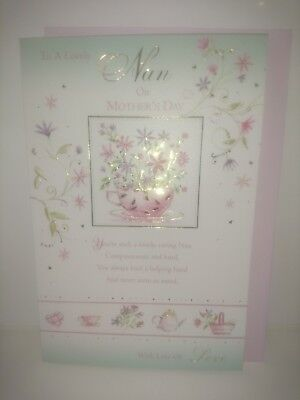 Job lot Lovely Nan on mothers day cards 36 cards
