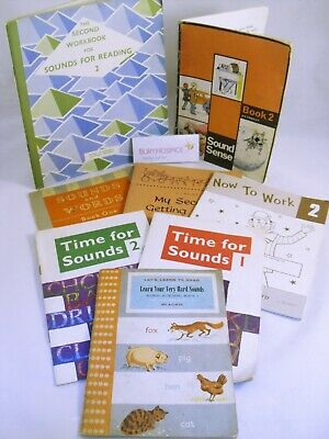 Assorted 1960s Children's Learn to Read Books x 8 (WH_6936)