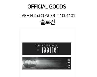 TAEMIN SHINEE 2nd CONCERT T1001101 OFFICIAL GOODS SLOGAN TOWEL SEALED