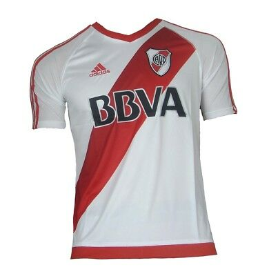 CA River Plate Jersey Home 2016/17 Adidas Shirt Soccer Argentina Youth Size