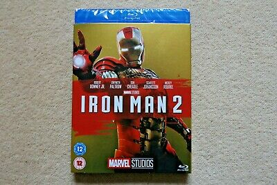 Blu-Ray Marvel Iron Man 2  ( With Limited Edition Slipsleeve ) New