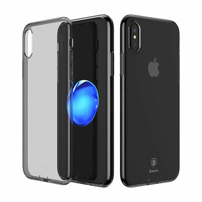 Baseus Dirt-resitant Phone Case For iPhone X Soft TPU Silicone Back Cover
