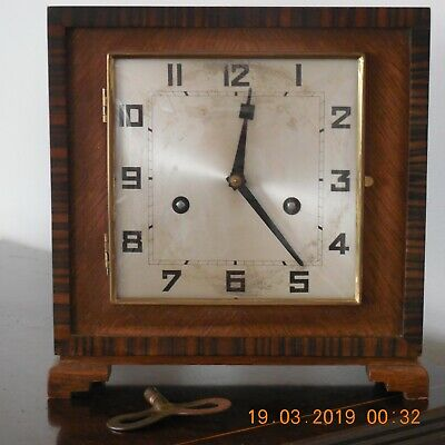 Antique Hamburg American Clock  (H.a.c. )Made In Wurttemberg