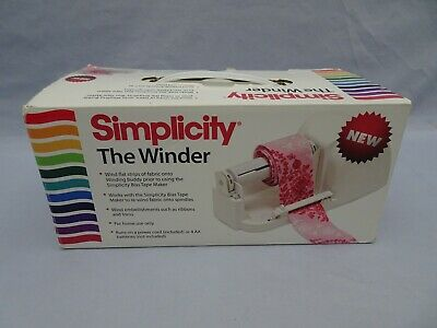 Simplicity The Winder Machine Bias Tape winder NEW Companion for Tape Maker
