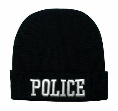 e32996b73ad02 BLACK MILITARY COLD Weather Patrol Cap With Ear Flaps Fatigue Hat ...