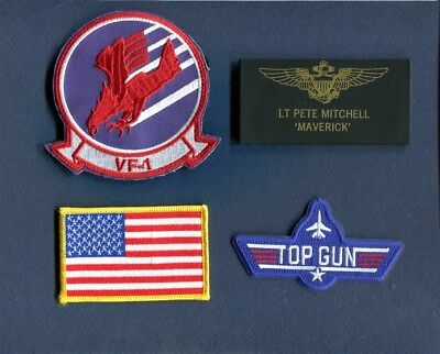 Details about  /LT PETE MITCHELL MAVERICK FROM TOP GUN NAME BADGE HALLOWEEN COSTUME PROP MAGNET