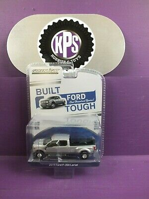 Greenlight 2019 Ford F-350 Lariat Pickup Dually Silver 100 Years 27970-F