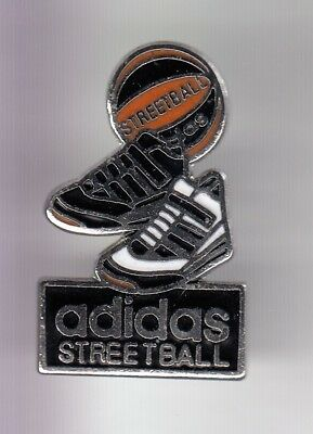 Rare Pins Pin's .. Sport Chaussure Shoes Team Adidas Streeball Basket 3D ~Eb