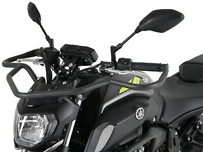 Yamaha MT - 07 (2018-) Front Protection Bar - Anthracite by HEPCO AND BECKER