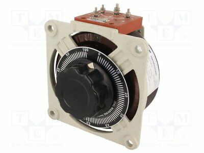 Variable autotransformer; 230VAC; Uout:0÷260V; 5A; 6.8kg [1 pcs]