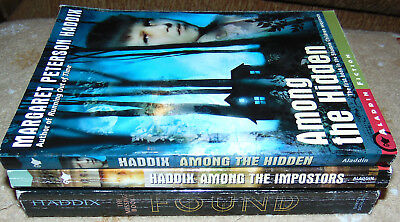 HADDIX Among the...3 Books - HIDDEN IMPOSTERS FOUND