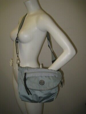 Lululemon Pre-Owned Crossbody FESTIVAL BAG Earl Grey / Deep Coal
