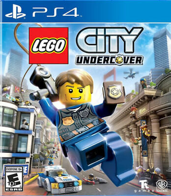 LEGO CITY UNDERCOVER video game (PS4 PlayStation 4) - NEW, FACTORY SEALED- E10+