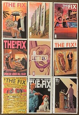 The Fix #1,2,3,4,4,5,6,7,8 Image Comics Nick Spencer lot Nm
