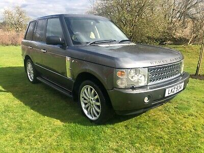 2004 Range Rover 3.0 Diesel Vogue Auto Private Plate Inc Overfinch Wheels