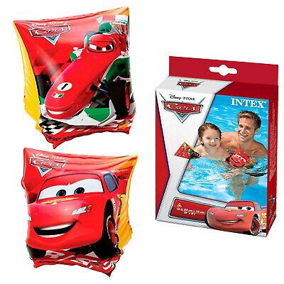 Swimming Armbands Intex Disney Cars Kids Children 3-6 Water Safety Swim Floating