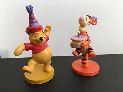 Winnie The Pooh Figures Birthday Cake Toppers Tigger Disney Applause