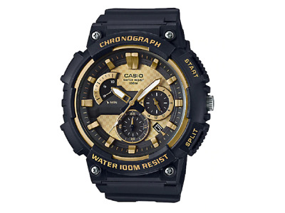 Casio Men Watch MCW-200H-9AV 3-D Dial Chronograph Watch