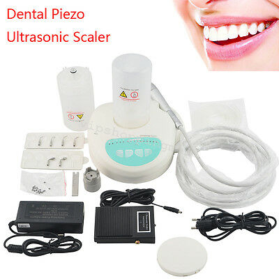 Portable Dental Piezo Ultrasonic Scaler Self Contained Water Fiber Optic System