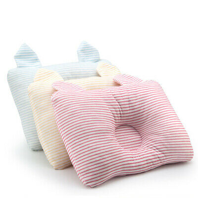 Infant Cot Pillow Preventing Flat Head Neck Syndrome For Newborn Baby US D6N0J