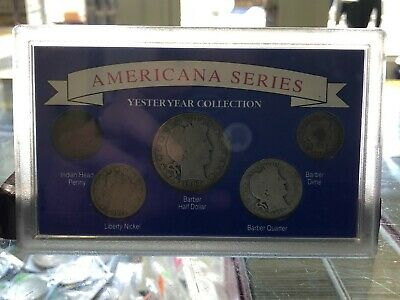 1990 Americana Series Yesteryear Collection Barber/Liberty/Indian Head