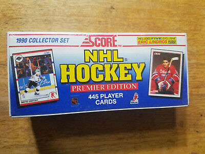 1990 Score NHL Hockey Factory Sealed Set Complete 445 Cards Premier Edition