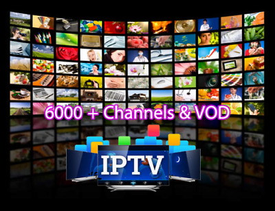 BEST PREMIUM IPTV Server (6500+ Chan & VOD ) SMART MAG Android FireStick