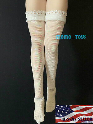 """1/12 Scale Sexy Fishnet Stockings For 6"""" PHICEN TBLeague T01 Female Figure ❶USA❶"""