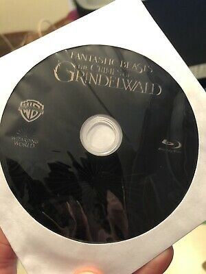 Fantastic Beasts:The Crimes Of Grindelwald (Blu-ray)Disc ONLY!Nothing Else!!!!