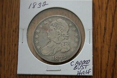 1832      Capped Bust Half Dollar