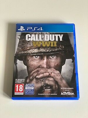 juego Playstation 4 Call of Duty WW2