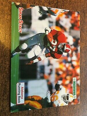 Siran Stacy. Lafayette Sportscard 1992. Nfl Collectors Card. Free Uk Postage.