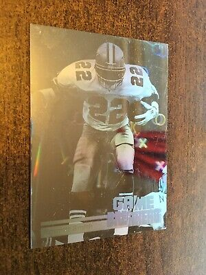 Emmitt Smith. Game Breakers Upper Deck Card. 1991. Nfl Collectors Card #gb5.