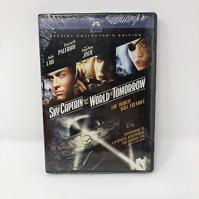 Sky Captain and the World of Tomorrow (2004) NEW DVD Free Shipping